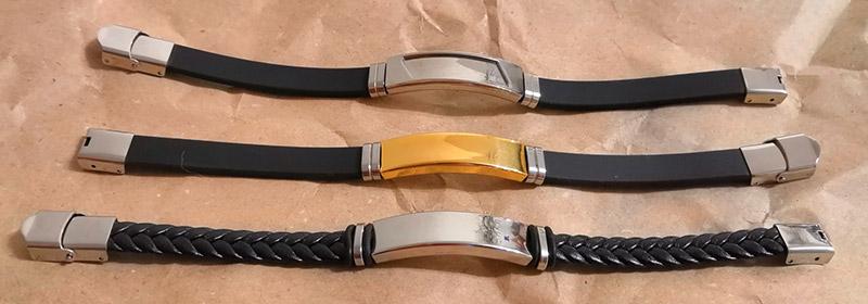 парные браслеты с гравировкой